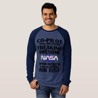 Camiseta de la raza de la NASA