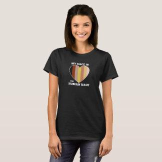 Camiseta de la raza humana - mujeres oscuras