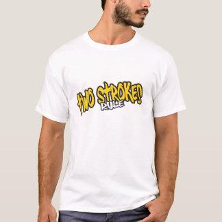 Camiseta de la regla de los movimientos de dos