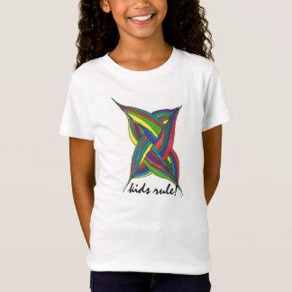 Camiseta de la regla de los niños