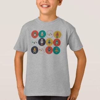Camiseta de la regla de los robots