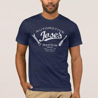 Camiseta de la reparación de automóviles de Jose
