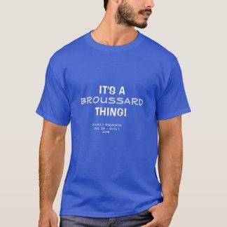 Camiseta de la reunión de familia de Broussard