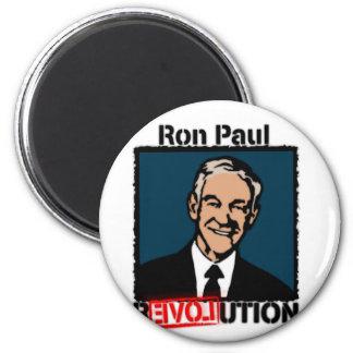 Camiseta de la revolución de Ron Paul Imán Redondo 5 Cm