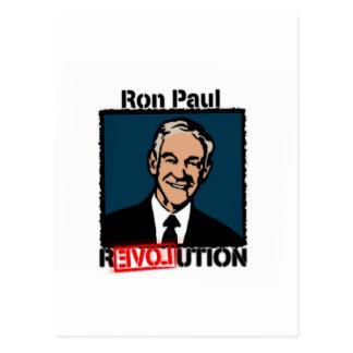 Camiseta de la revolución de Ron Paul Postal