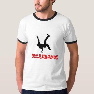 Camiseta de la Rotura-danza de los hombres