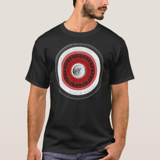 Camiseta de la rueda del alambre de Spoked del