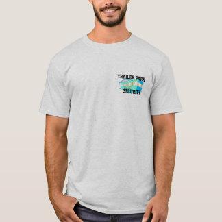 Camiseta de la seguridad del parque de caravanas