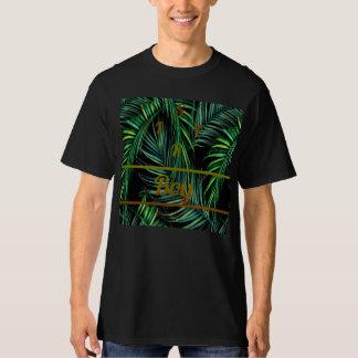 Camiseta de la selva del muchacho del safari