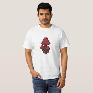Camiseta de la seta del pixel