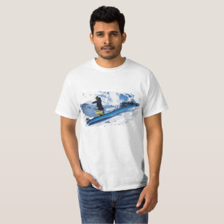 Camiseta de la snowboard