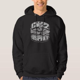 Camiseta de la sudadera con capucha de CV-22