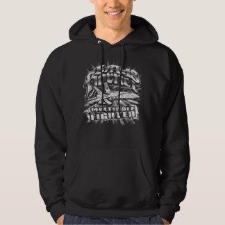 Camiseta de la sudadera con capucha del avispón