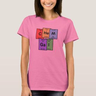 Camiseta de la tabla periódica de Chem galón