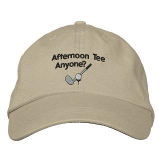 Camiseta de la tarde Golfing el gorra bordado Gorro Bordado