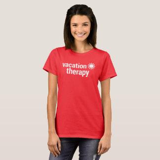 Camiseta de la terapia de las vacaciones