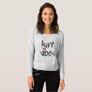 camiseta de la tía de la sensación de la tía nueva