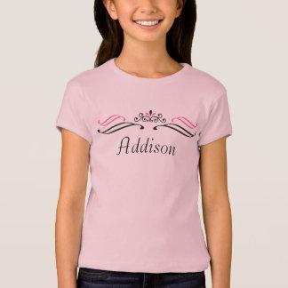 Camiseta de la tiara de la princesa/del concurso