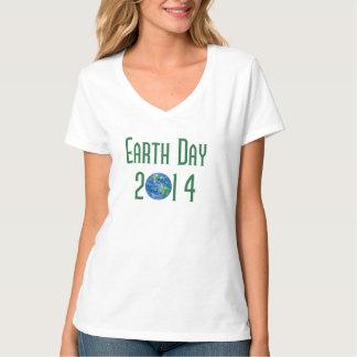 Camiseta de la tierra del planeta de 2014 Días de