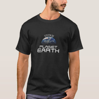 Camiseta de la tierra del planeta de Timmuzik