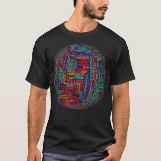 Camiseta de la tipografía de la conciencia del