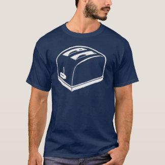 Camiseta de la tostadora de los colores oscuros