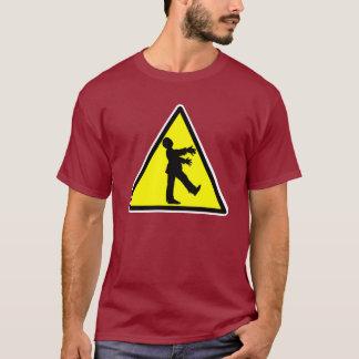 Camiseta de la travesía del zombi