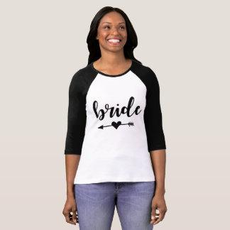 Camiseta de la tribu de la novia para la novia