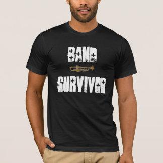 Camiseta de la trompeta del superviviente de la