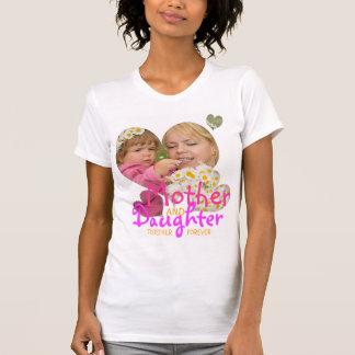 Camiseta de la unidad de la madre y de la hija