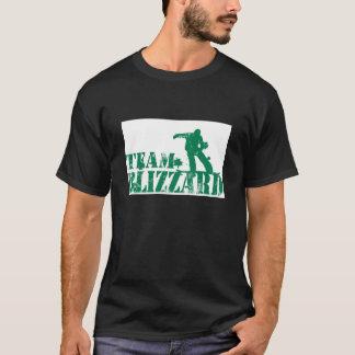 Camiseta de la ventisca del equipo