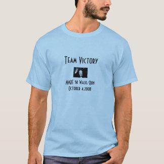Camiseta de la victoria del equipo
