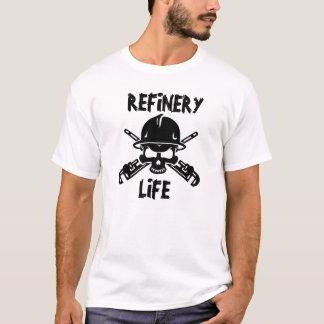Camiseta de la vida de la refinería