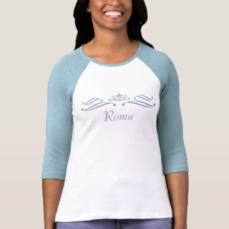 Camiseta de la voluta de la tiara de Roma por