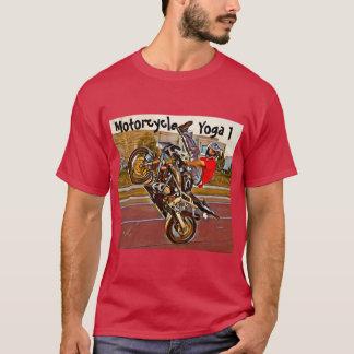 Camiseta de la yoga de la motocicleta