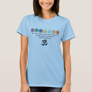 Camiseta de la yoga de OM