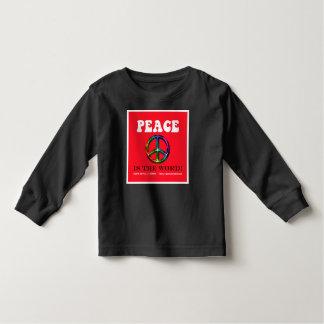Camiseta de largo envuelta del niño de