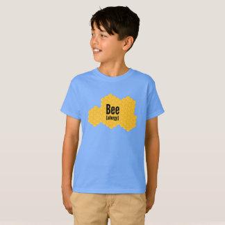 Camiseta de las alergias de la abeja con el