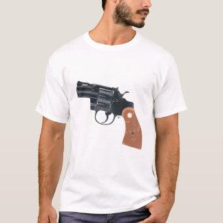 Camiseta de las armas de fuego de la pistola del