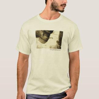 Camiseta de las botas de vaquero