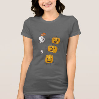Camiseta de las calabazas y de los fantasmas de