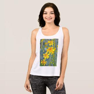"""Camiseta de las camisetas sin mangas de la """"flor"""