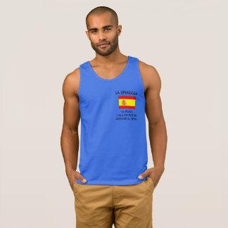 Camiseta de las camisetas sin mangas de los