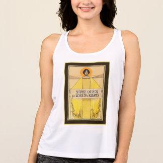 Camiseta de las derechas de las mujeres del arte
