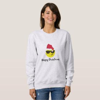 Camiseta de las felices Navidad de Emoji