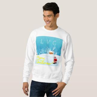 Camiseta de las Felices Navidad de LVC