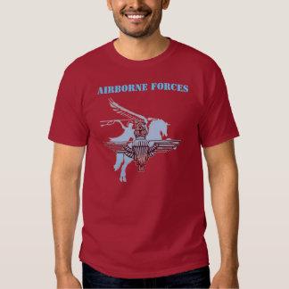 Camiseta de las fuerzas aerotransportadas