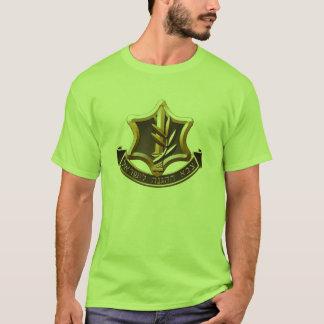Camiseta de las fuerzas de defensa de Israel