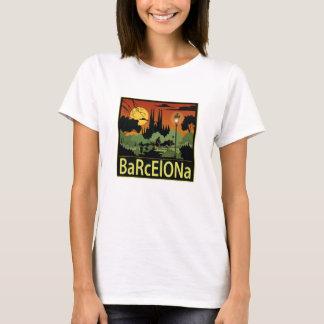 Camiseta de las mujeres de Barcelona