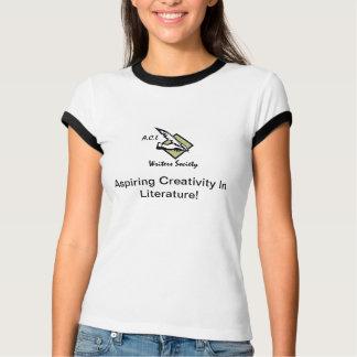 Camiseta de las mujeres de los escritores del ACL